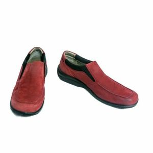 Rockport Red Kenitic Air Circulator Walking Shoes